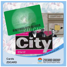 2013 Transparent PVC Card for Products Promotion