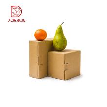 Caixa ondulada reciclável engraçada barata da caixa dos alimentos frescos do logotipo feito sob encomenda em malaysia