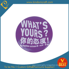 Personality Trend Customized Tin Button Badge in Zinc Alloy
