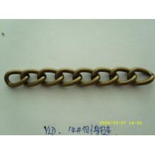 custom nickle free metal antique chains for handbag