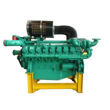 Small 16 Cylinder 889kw-1188kw Engine Diesel 60Hz 1800rpm