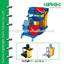 multifunction janitor's cleaning trolley