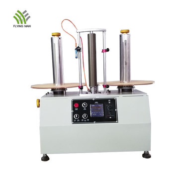 Automatic label rewinding machine with counting function