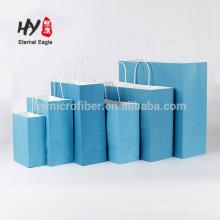 Promocional colorido personalizado saco de papel kraft atacado