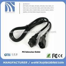 6 футов ПК для монитора Кабель питания 220 В переменного тока Удлинительный кабель