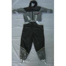 Yj-6054 Reflective Children's Boys Toddler Kids Raincoats Manteau de pluie PU