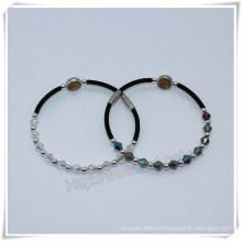 8mm Resin Beads Religious Bracelet Catholic Bracelet with Cross (IO-CB168)