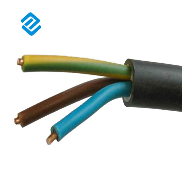 Rubber covered electrical cable dimensions