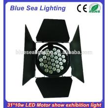 320W светодиодный автомобильный свет / 37pcs / 31pcs 10W Светодиодный театр / Мотор выставка Par Light