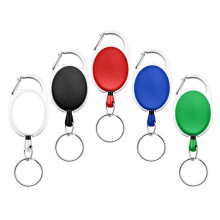 Retractable Badge Reel Yoyo Clip For ID Plastic Badge Holder Accept Custom Logo With Small Quantity