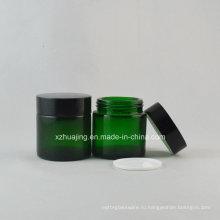 30g круглые зеленые кожи крем стекло косметических