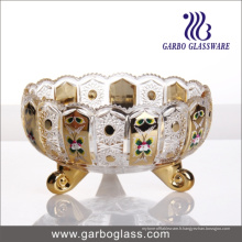 GB1837xty-4-Dn Golden Glass Jar