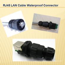 Câble LAN RJ45 Connecteur étanche