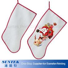 Sublimation Blank Christmas Gift Stockings Christmas Socks