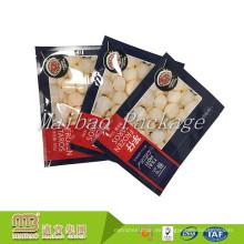 Bolso de empaquetado flexible de la comida de Samosas congelada plástico al por mayor impresa aduana de encargo con logotipos