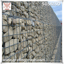 Cages enduites de PVC / soudées / Gabion / paniers de Gabion pour des murs de remaillage
