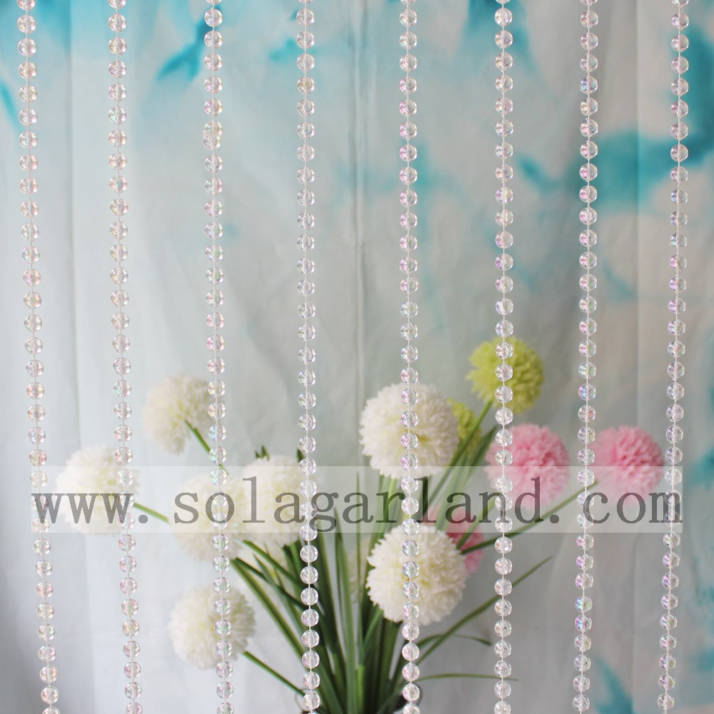Clear Beads String