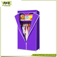 High Quality Cheap Bedroom Foldable Simple Fabric Wardrobe