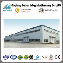 2015 Galería de estructura de acero de gran tamaño personalizada con fácil instalación