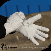 SRSAFETY High quality pig grain lady leather gloves in europe