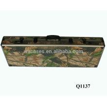 nuevo caso de llegada militar aluminio pistola con espuma interior fabricante caliente vender