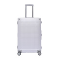 Luxury Aluminum Luggage Suitcase for Men and Women Business Travel
