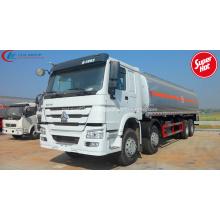 Camión del tanque de combustible de SINOTRUCK HOWO 30000litres de la venta caliente