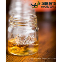 50ml Engraved Shots Cocktail Glass Mason Jar with Screw Cap