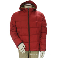 Frauen-Winter-wasserdichte windundurchlässige unten Hoody-rote Freizeit-Soem-Jacke