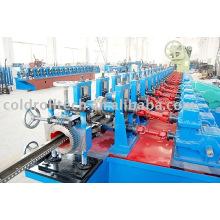 Máquina formadora de rollos de quilla de acero ligero