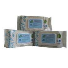Lingettes pour bébé biodégradables en fibre de bambou