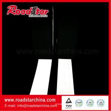Konkurrenzfähiger Preis reflektierende PVC-Schaum Leder Silber Farbe
