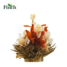 Finch venda quente beleza artesanal flor florescendo chá Bai He Hua Lan