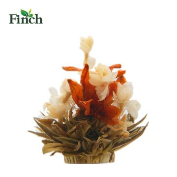 Finch Heißer Verkauf Schönheit Handgemachte Blume Blühenden Tee Bai He Hua Lan