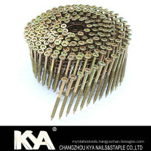 (Square Head) Galvanized Wire Collated Screw for Furnituring, Industry