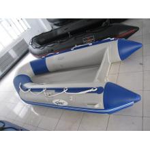 Barco inflável de trabalho, barco de resgate, aprovado pela CE