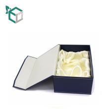 Neue aufbereitete Pappe, die magnetische Wein-Flaschen-Verpackenkasten mit Einsatz faltet