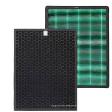 H12 H13 H14 home activated carbon filter air purifier replacement hepa filters for Coway AIRMEGA 400/400S