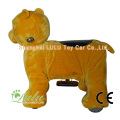 Ours jaune animaux Rider Coin Operated Machine