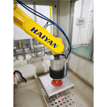 Cellule robotique de broyage Abb Fanuc