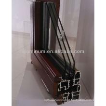Perfis de extrusão de madeira para alumínio