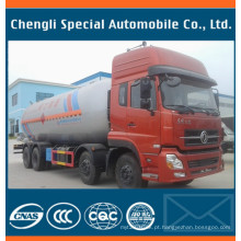 8 x 4 12wheels GLP gás Bobtail caminhão-tanque