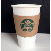 Disposable Customized Coffee Hot Paper Cup with Lid