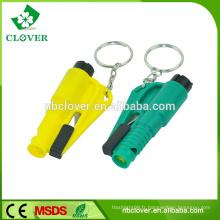 Matériau plastique marteau multifonctionnel de voiture et d'autobus avec coupe-ceinture