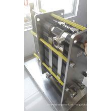 Intercambiador de calor de placa plana Hisaka Ux30 para pasteurización de leche