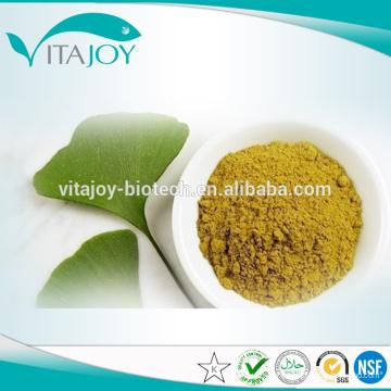 EP / USP Standard Ginkgo Biloba Extrait Glycosides24%, Terpène Lacosides6%