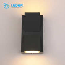 LEDER 6W K-shaped up and down outdoor wall light