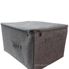 Caixas de armazenamento de roupas de tecido de poliéster