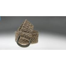 Fashion hemp rope knitted belts-KL0035