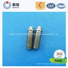 China Supplier CNC Machining Precision Threaded Rod